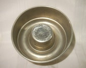 Vintage Enzo Jel Ring Mold, Aluminum Mold for Jell-O and other Gelatin Desserts