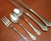 ROMANCE by Farberware stainless silverware vintage flatware BIN 36