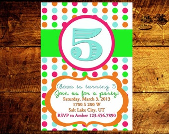 birthday invitations, girl birthday invitations, kids birthday invitations, birthday party invitations, birthday invites