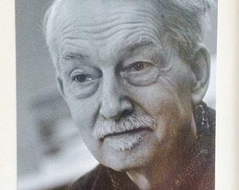 Portrait of Jacques Maritain by photograher Ulli Steltzer Princeton University French Philosopher original signed black white photograph