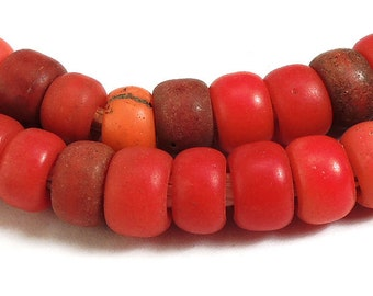 Padre Trade Beads Red African 92206