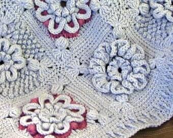 Skerin Isabella Crochet Afghan Pattern