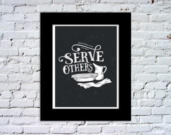 Serve Others Color Print