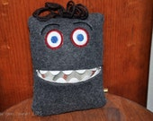 Friendly Monster Tooth Pillow
