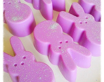 MARSHMALLOW BUNNY Soap, Novelty Soap, Organic Soap, Easter, Shower Favors, Favors, Natural Soap