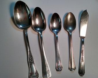 lot of serving utensils