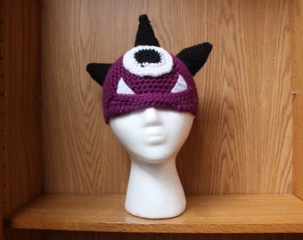Mighty Monster Crochet Hat
