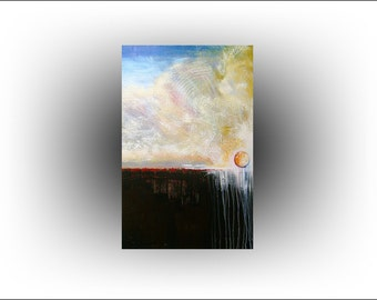 Landscape Morning has Broken Painting - 24 x 36 - Skye Taylor