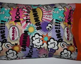 Michael Miller Bam Girl Pillowcase  Standard or  Travel