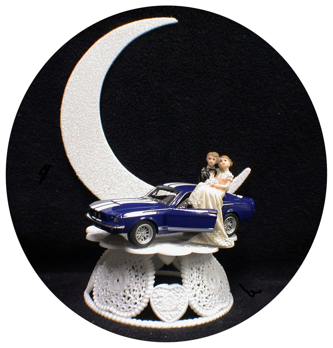 ford truck wedding cake topper ford shelby mustang mechanic auto wedding groom cake top 14404