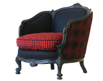 Brooklyn Upholstered Barrel Back Chair