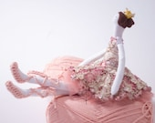 Ballerina doll Beaded tutu dress