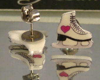 Ice Skates Stud earrings