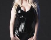 Black PVC Jumpsuit Medium from Artifice Clothing