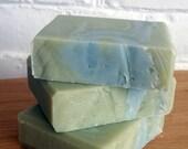 Eucalyptus & Mint Handmade Soap, Soap, Rosemary, Mint, natural soap,  4 oz.