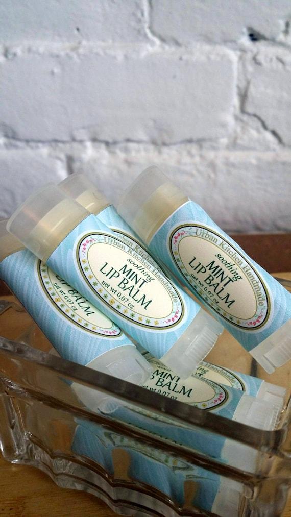 Mint Lip Balm, mint, lip balm, beeswax, holiday gift