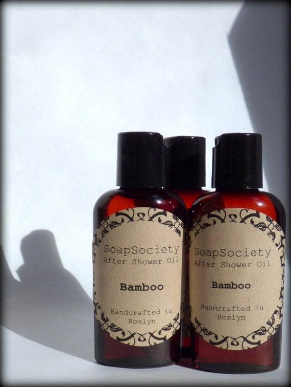 Bamboo -----Fresh Shower/Massage Oil------