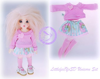 Littlefee YoSD Kawaii Unicorn Set