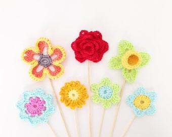 Crochet Flower Ebook - Instant Download
