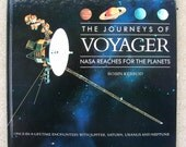 Voyager 2 Space Travel - Voyager 2 Spacecraft Probe and NASA in Outer Space - Jupiter Saturn - 1990