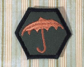 STEAMPUNK Merit Badge - Parasol Umbrella Steampunk Scouts