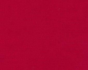 Cardinal, Kona Cotton, Robert Kaufman Fabrics, 1/2 Yard