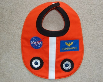 Astronaut Flight Suit Bib