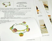 """Tutorial for the """"Climbing Roses"""" Bangle"""