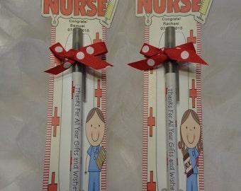 Personalized Graduation Favors- Nurse Theme