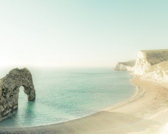 "Landscape photography, minimal photography, beach photography ""The Jurassic Coast"""