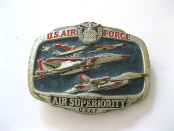 US Air Force Air Superiority USAF Belt by TheSnapDragonsLair