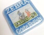 Glass Mini Tile - Zebra Polish