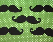 "50  3"" Mustache Die Cut / CHOOSE COLORS"