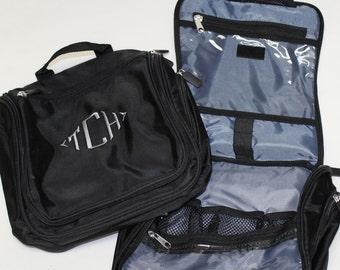 Men's Hanging Dopp Kit - Monogrammed Toiletry Bag - Monogram Travel Bag - Personalized Mens Gift - Hanging Toiletry Bag - Graduation Gift