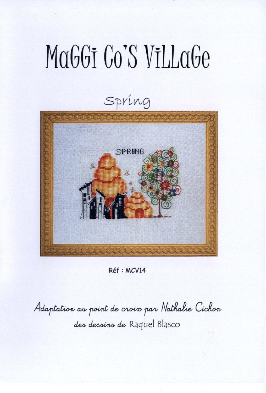 Jardin prive maggi co 39 s village spring oop cross for Jardin prive