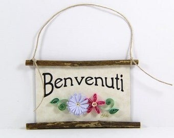 Popular items for benvenuti on etsy for Italian kitchen gifts