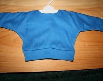 18 inch Doll Shirt  Blue