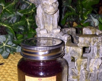 Dragons Blood  Scented Handcrafted 3 ounce Candle