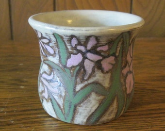 Lavender Iris Pottery