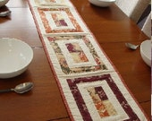 Quilted Table Runner, Picture Frames SALE