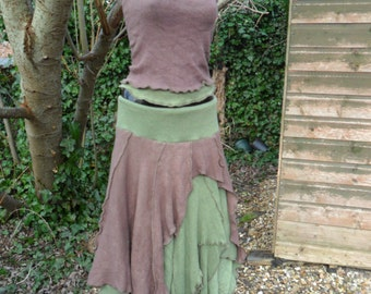 Woodland Pixie Skirt and Halter Top