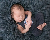 Newborn Photo Prop-Newborn Blue Overalls-Baby Boy Overalls-Blue Overalls-Baby Boy Photo Prop-Photography Props-Newborn Boy-Baby Overalls