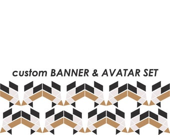 CUSTOM banner and avatar set