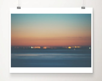 lisbon photograph sunrise photograph abstract art landscape photograph ocean photograph lisbon print minimalist decor