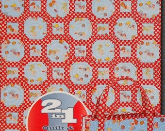 CLEARANCE Scraps Of Time HAVING A Ball - Quilt Quilter Pattern Template