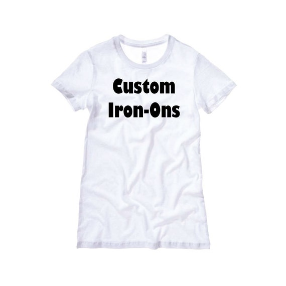 custom iron on decals heat transfers vinyl transfer iron ons t