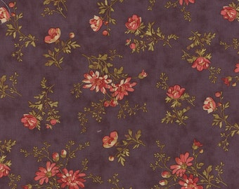 Atelier delicate sprays mauve (purple) by 3 Sisters for moda fabrics