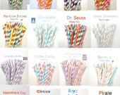 """Paper Straws Discounted Price and """"FREE"""" Shipping with the purchase of Plastic Jars or Daisy Lids"""