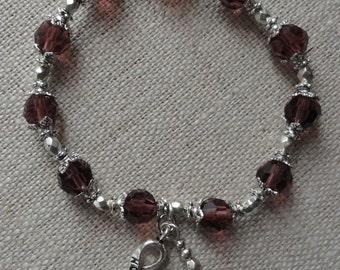 065 Hodgkin's Lymphoma Awareness Bracelet