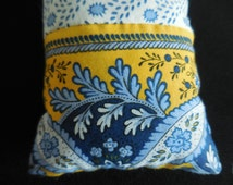 Souleiado French Fabric Dried Lavender Hanging Pillow Room Sachet (A)